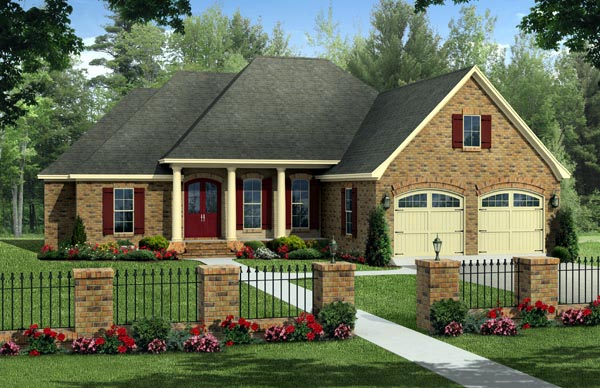 Country European Traditional House Plan 59220 Elevation