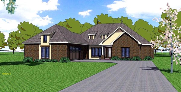 Contemporary Florida Southern House Plan 59302 Elevation