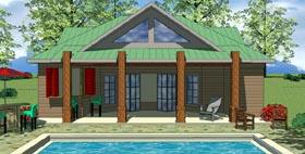 Cottage Craftsman House Plan 59309 Elevation