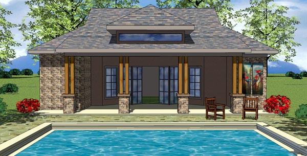 Cottage Craftsman House Plan 59312 Elevation