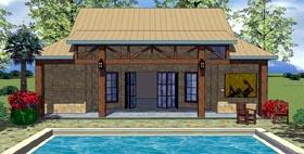 Cottage Craftsman House Plan 59315 Elevation