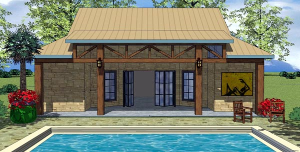 Cottage Craftsman House Plan 59315 Elevation