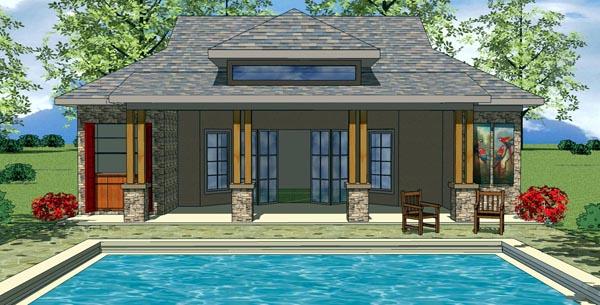 Cottage Craftsman House Plan 59317 Elevation