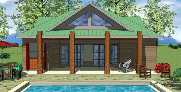 Cottage Craftsman House Plan 59319 Elevation
