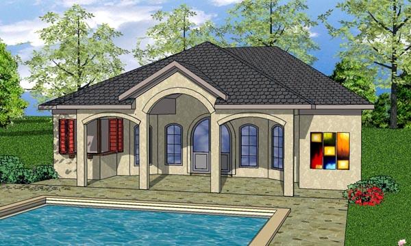 Cottage Craftsman House Plan 59341 Elevation