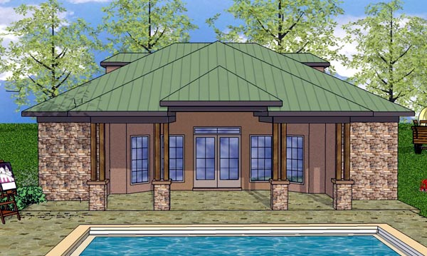 Cottage Craftsman House Plan 59342 Elevation
