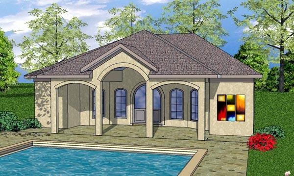 Cottage Craftsman House Plan 59345 Elevation