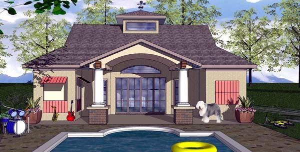 Cottage Craftsman House Plan 59348 Elevation
