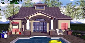 Cottage Craftsman House Plan 59350 Elevation