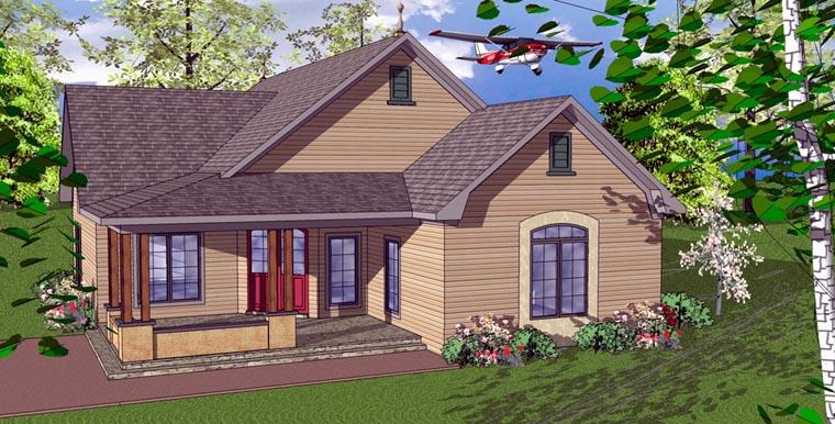 Cottage Florida Southern House Plan 59366 Elevation