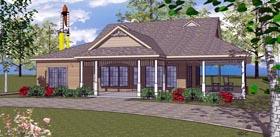 Coastal Southern House Plan 59397 Elevation