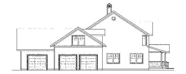 Country, Florida, Traditional House Plan 59413 with 4 Beds, 4 Baths, 3 Car Garage Picture 1