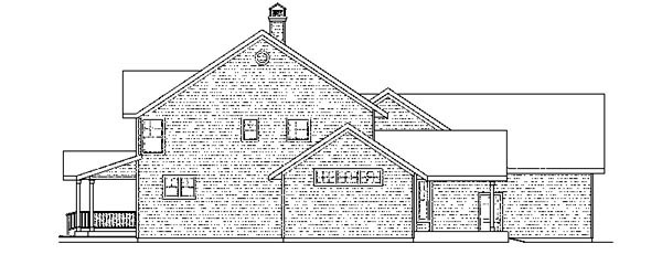 Country, Florida, Traditional House Plan 59413 with 4 Beds, 4 Baths, 3 Car Garage Picture 2