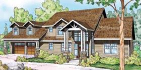 Cottage , Florida House Plan 59414 with 3 Beds, 3 Baths, 2 Car Garage Elevation