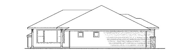 Craftsman, European, Ranch House Plan 59415 with 4 Beds, 3 Baths, 3 Car Garage Picture 1