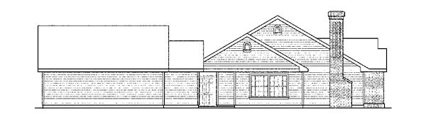 Cottage, European, Ranch, Traditional House Plan 59428 with 5 Beds, 3 Baths, 3 Car Garage Picture 1