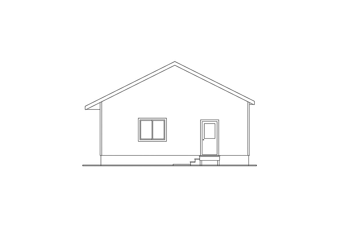 Traditional 4 Car Garage Apartment Plan 59441 Picture 1