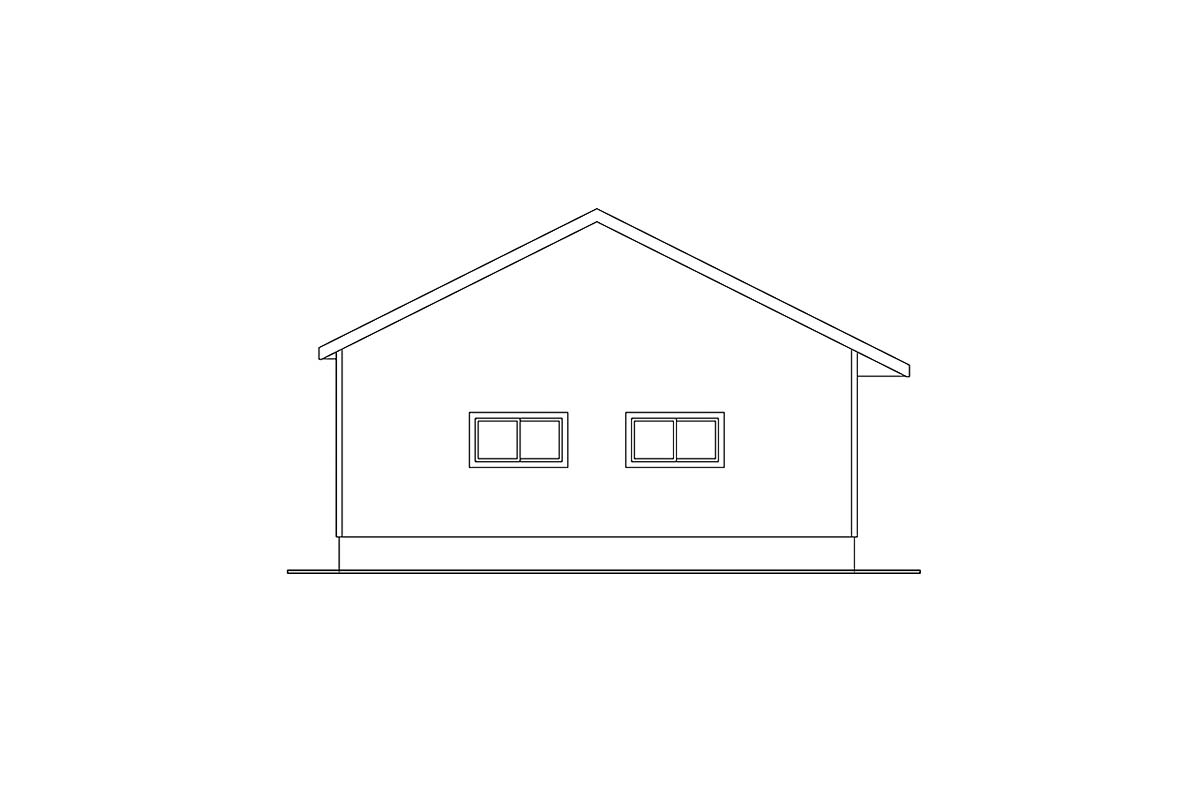 Traditional 4 Car Garage Apartment Plan 59441 Picture 2