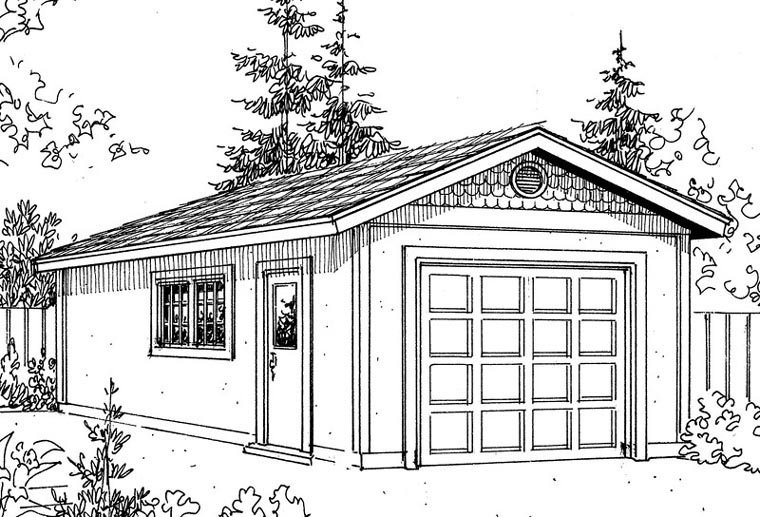 Mediterranean Garage Plan 59443 Elevation
