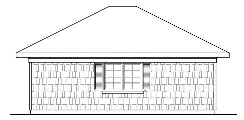 Craftsman, Traditional 2 Car Garage Plan 59445 Picture 1