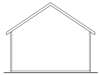 Traditional Garage Plan 59453 Rear Elevation