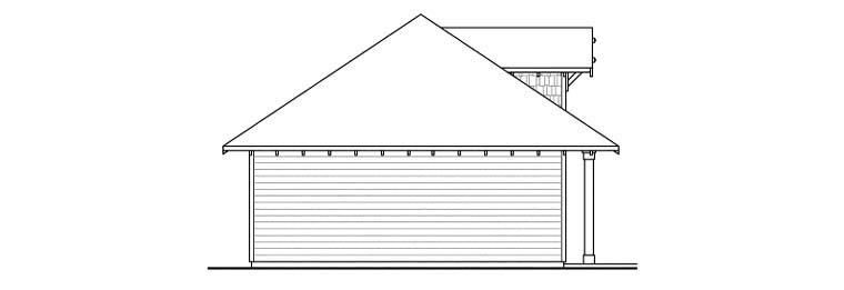 Craftsman 3 Car Garage Plan 59456 Picture 1