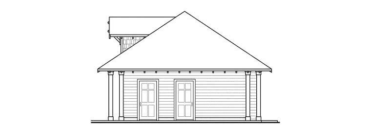 Craftsman 3 Car Garage Plan 59456 Picture 2