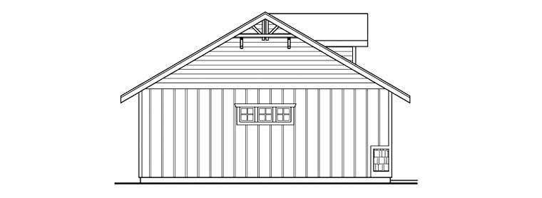 Craftsman 2 Car Garage Plan 59457 Picture 1