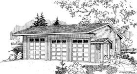 Garage Plan 59460