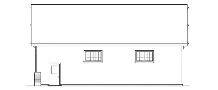 Craftsman 4 Car Garage Plan 59466 Picture 2