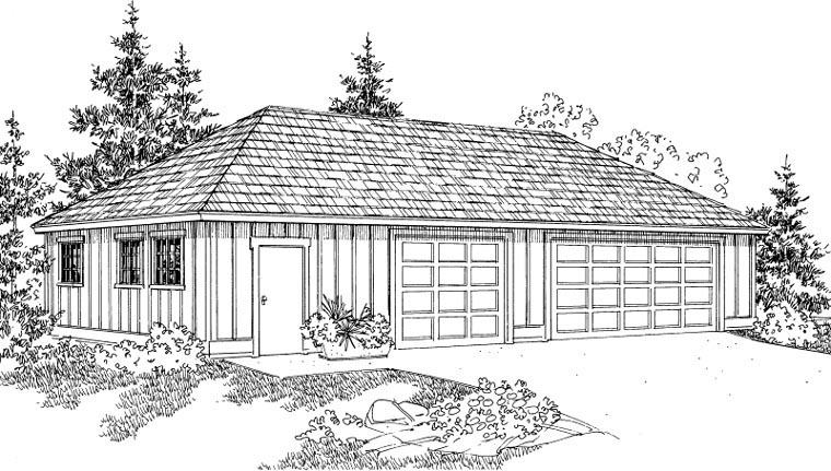 Traditional Elevation of Plan 59470