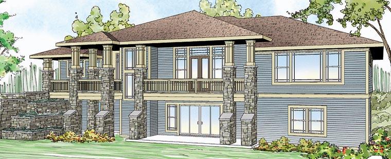 Craftsman European House Plan 59493 Elevation