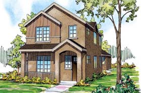 Contemporary Florida Mediterranean Southwest House Plan 59496 Elevation