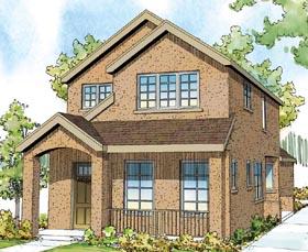 Contemporary Florida Southwest House Plan 59499 Elevation