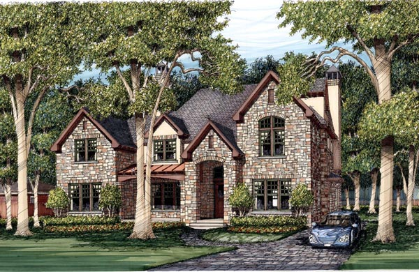 Traditional House Plan 59507 Elevation