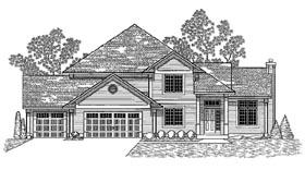 Plan Number 59664 - 2900 Square Feet