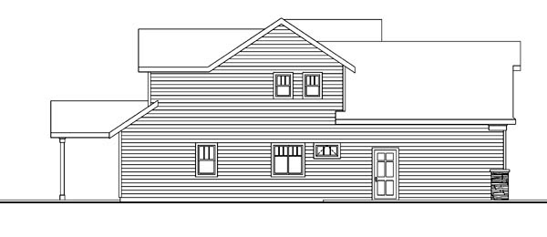 Bungalow, Cottage, Craftsman House Plan 59705 with 3 Beds, 3 Baths, 2 Car Garage Picture 1