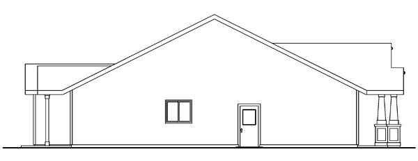 Bungalow, Cottage, Country, Craftsman, Ranch House Plan 59713 with 3 Beds, 2 Baths, 2 Car Garage Picture 1
