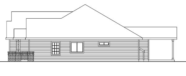 Contemporary, Craftsman, Ranch, Traditional House Plan 59714 with 3 Beds, 3 Baths, 3 Car Garage Picture 2