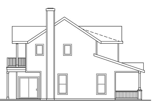 Contemporary, Cottage, Country, Farmhouse, Traditional House Plan 59723 with 3 Beds, 3 Baths, 3 Car Garage Picture 1
