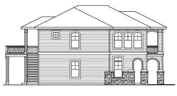 European, Traditional House Plan 59756 with 3 Beds, 4 Baths, 2 Car Garage Picture 1