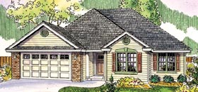 Colonial Contemporary Southern Traditional House Plan 59772 Elevation