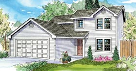 Contemporary Country Traditional House Plan 59778 Elevation