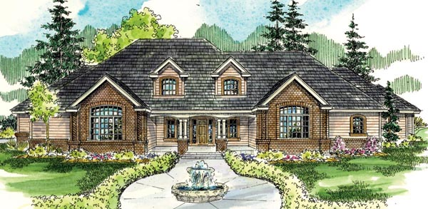 Traditional House Plan 59790 Elevation