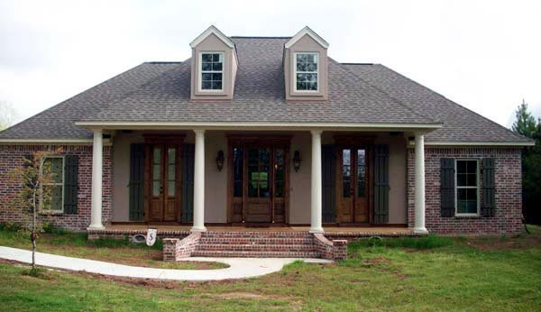 Country, European, French Country House Plan 59937 with 3 Beds, 2 Baths, 2 Car Garage Picture 7