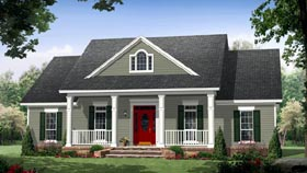 Colonial Country Traditional House Plan 59952 With 1870 Sq Ft 3