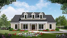 Country , Farmhouse , Southwest House Plan 59999 with 3 Beds, 3 Baths, 2 Car Garage Elevation