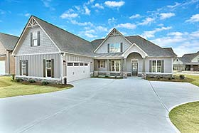 Cottage , Craftsman , Traditional House Plan 60027 with 4 Beds, 4 Baths, 2 Car Garage Elevation