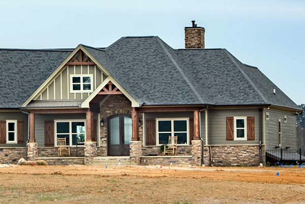 Cottage, Country, Craftsman House Plan 60028 with 4 Beds, 4 Baths, 3 Car Garage Picture 1