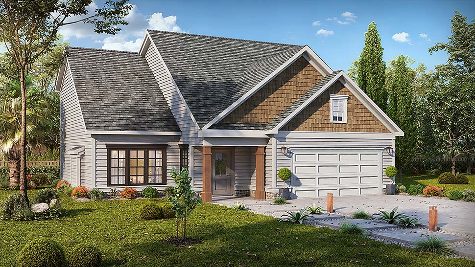 Craftsman Traditional House Plan 60039 Elevation